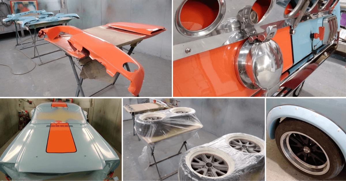 Ford Mustang Restoration - Mustang Respray - AM Restorations