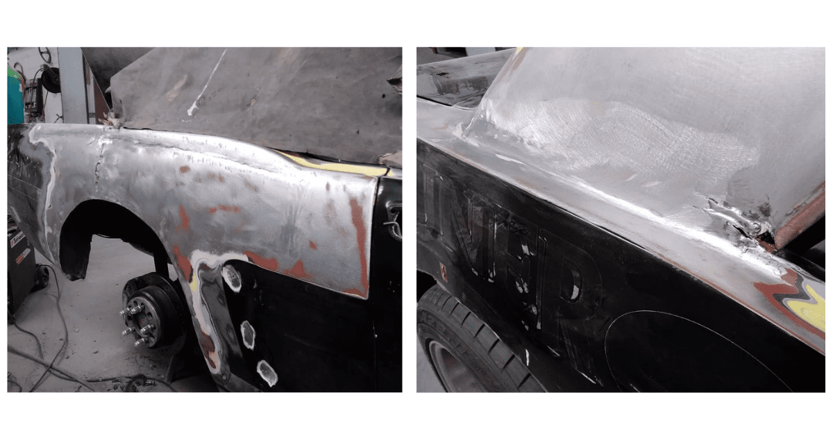 Ford Mustang Restoration -Stripping down Mustang - AM Restorations
