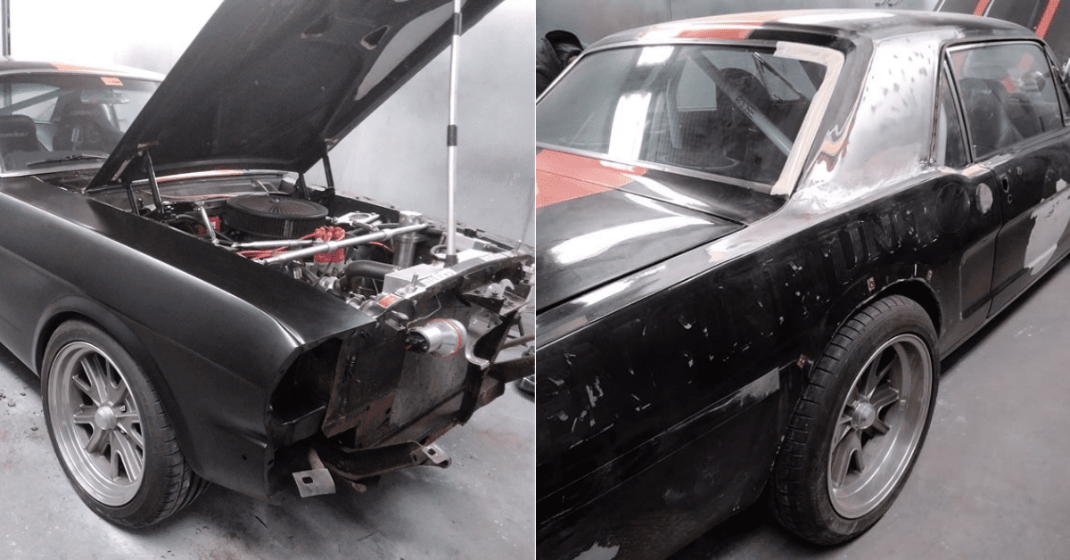 Ford Mustang Restoration -Stripping down Mustang - AM Restorations .png