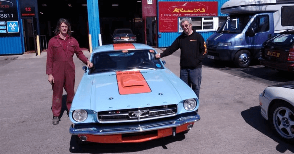 Ford Mustang Restoration -The finished product - AM Restorations