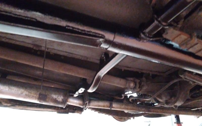 1947 Triumph Roadster Restoration and Respray - New Tubular Cross Member - AM Restorations