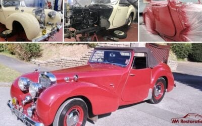 1947 Triumph Roadster Restoration Project