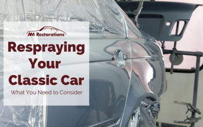 Respraying Your Classic Car – What You Need to Consider